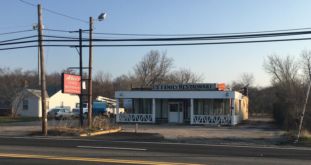 We ate here for 30 years, now it's gone. . .