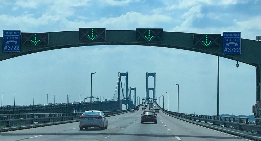 Crossing Delaware Bay