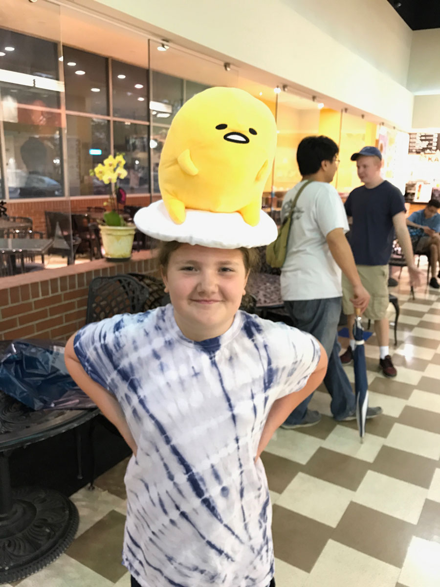 Grace and her Gudetama