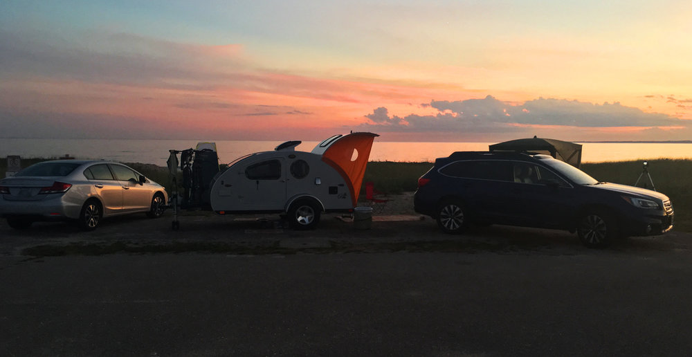 Sunset campsite!