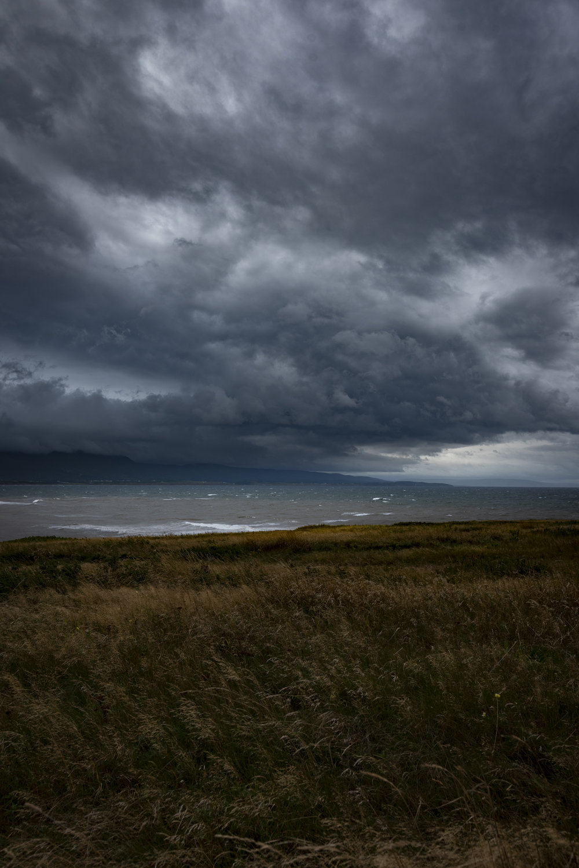 Storm clouds - Cheticamp Island