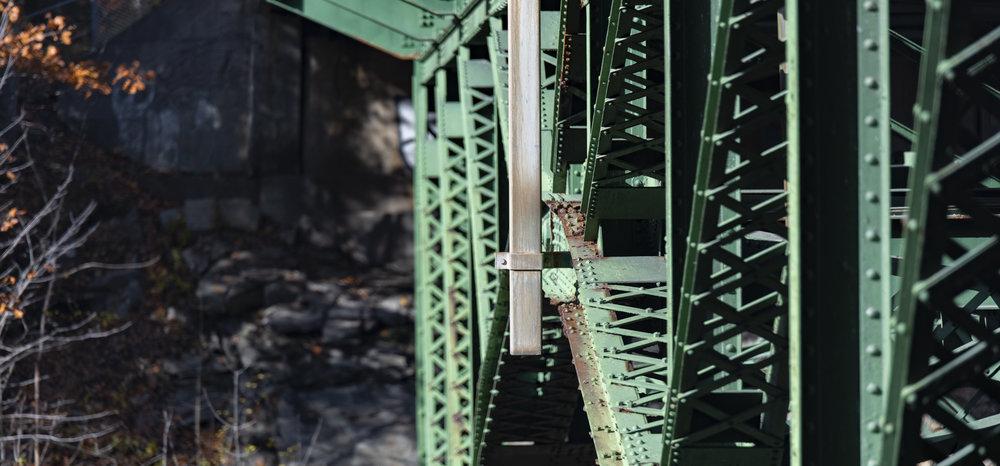 The bridge from beneath