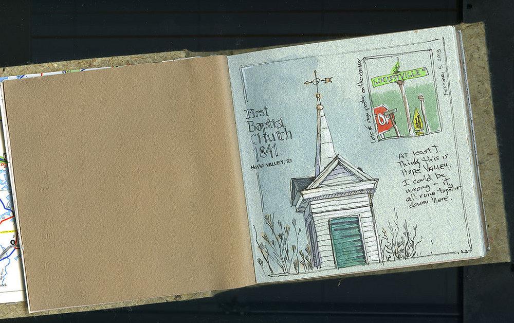 First sketch, 2-5-2013