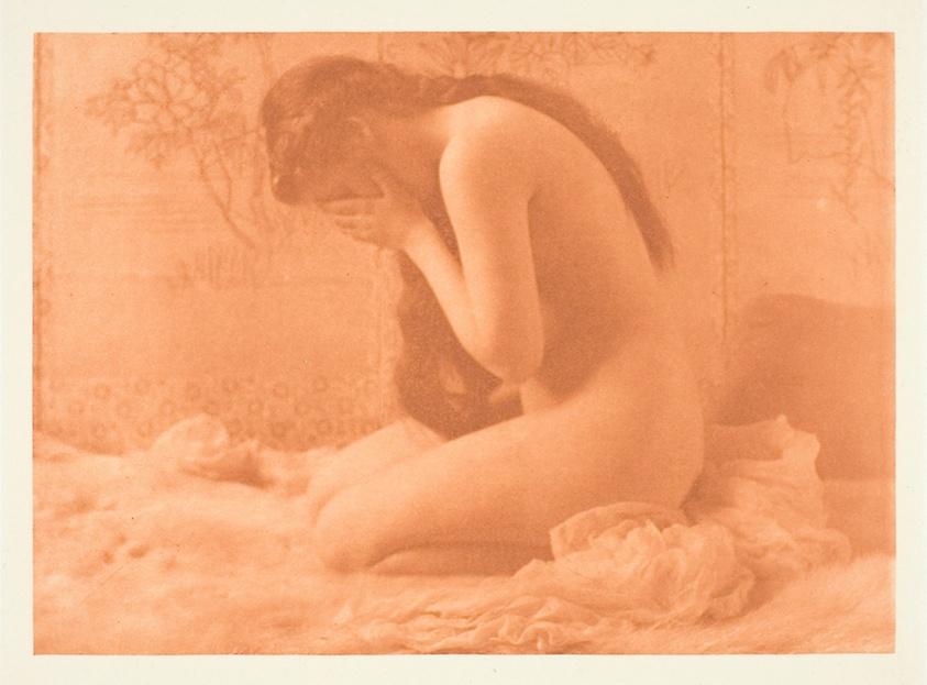 "Berg, Charles I . ""Weeping Magdalene."" 1897."