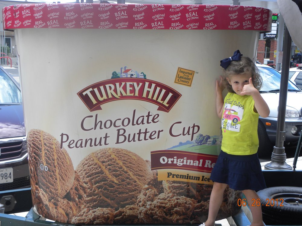 My daughter gave the Turkey Hill Experience a thumb's up.