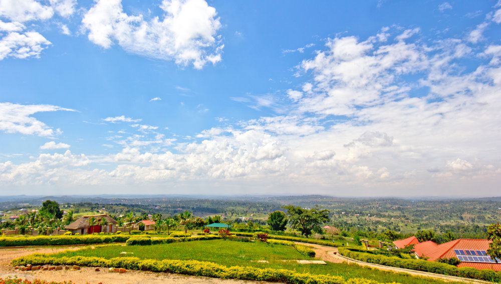 Graceland - Loving One By One is located on 11 acres of land on a beautiful hilltop about 1 hour outside of the capitol city of Kampala. The teams stay here.