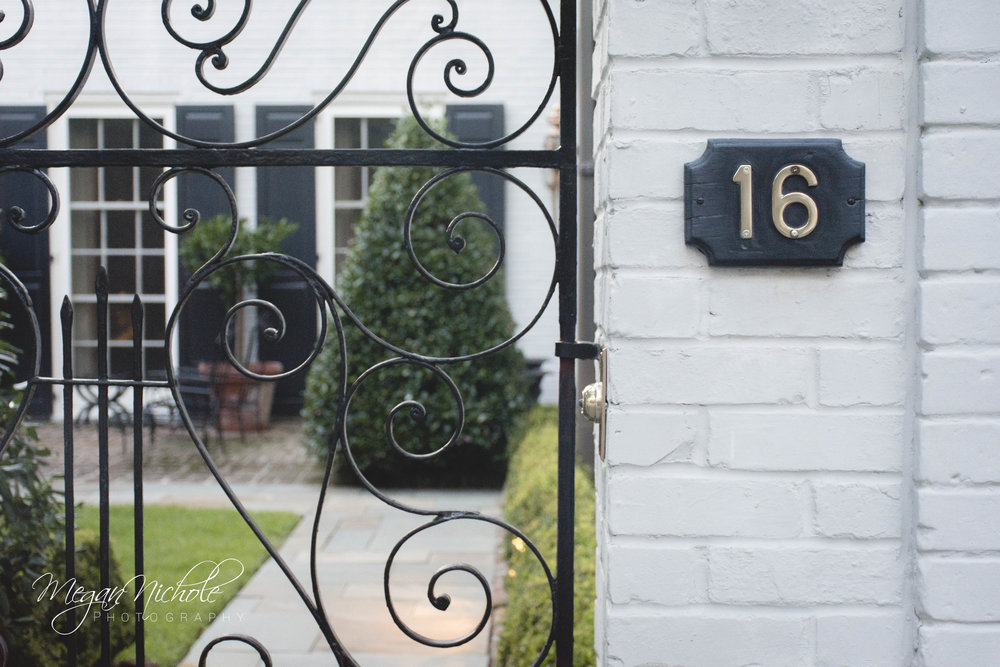 Charleston home house numbers