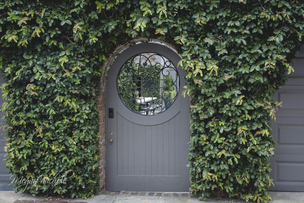 Charleston home gate