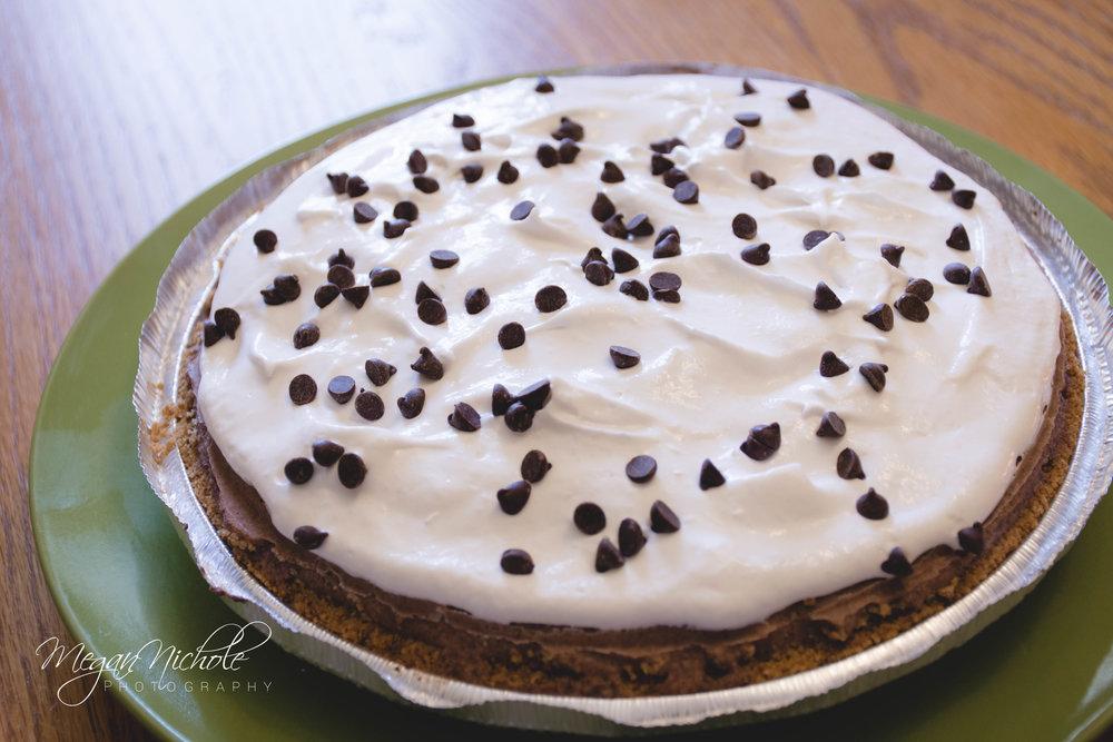 Vegan Gluten-free Chocolate Pie