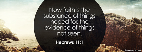 "NIV: ""Now faith is confidence in what we hope for and assurance about what we do not see."