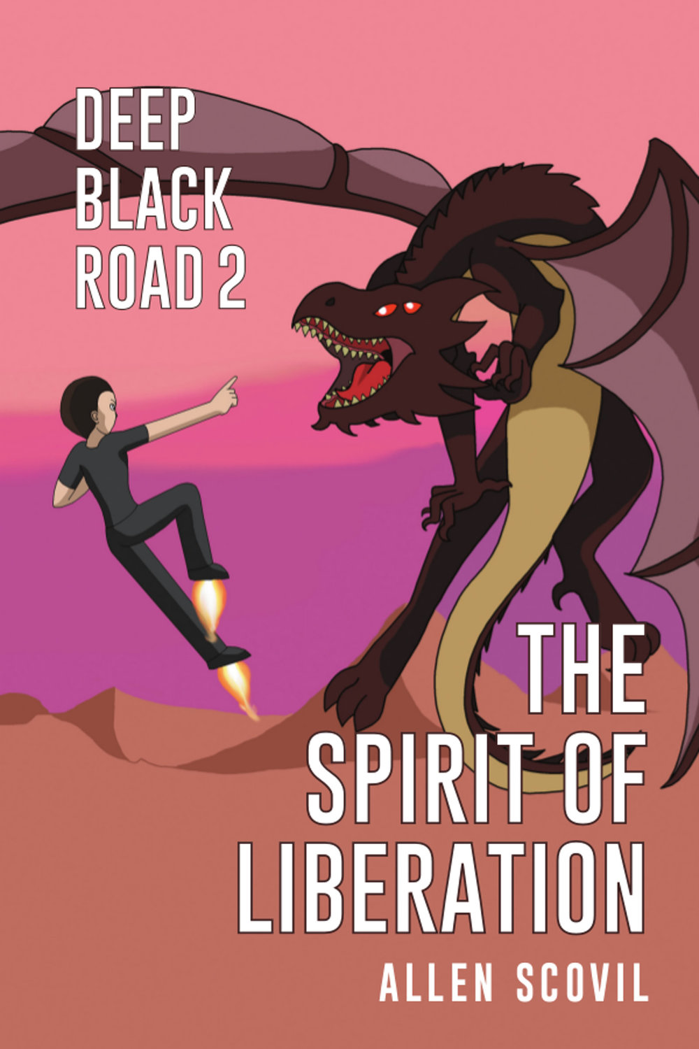 Deep Black Road 2: The Spirit of Liberation - This is the second book in the Deep Black Road series.In 2080, a robotic child is begotten; and when merely weeks old, it experiences first-hand the battle with dark spirits, as around it a great evil consumes the world of the carnate humans.As an adult, it is unable to follow its fellows out into the galaxy; so it wanders alone as an alien in a world of short-lived and forgetful people, working tirelessly to counter the schemes of those dark spirits. However, after nearly five hundred years, the spirit of darkness that was the source of the ancient disaster raises its ugly head once more in the heart of the kingdom of Liberation.The robot child, joining forces with a young man who has escaped the kingdom's system of slavery, seeks for a way to stop the sudden resurgence of the dangerous technologies of the past at the hands of the king, Father Abraham; but they come too late to counter his growing power on their own.As they flee for their lives, who can they find who'll be able to help them, in a spiritual war where their enemy controls half a continent?
