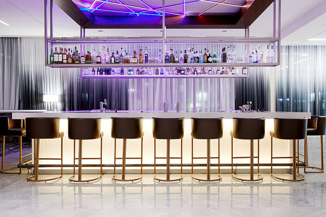 Level7 Rooftop Bar - Immerse yourself within the beautiful artistic environment, lounge and relax into the plush seating, and lose yourself in the live entertainment.