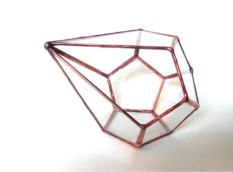 Handmade terrarium glass modern