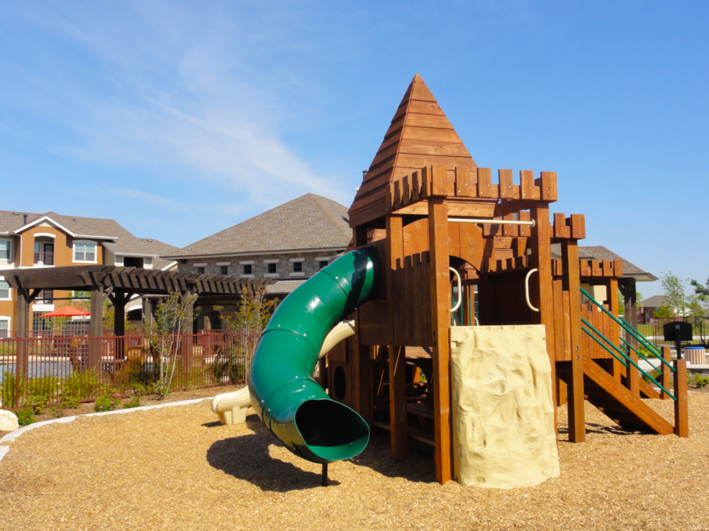Heart-of-Redwood Playscape Area