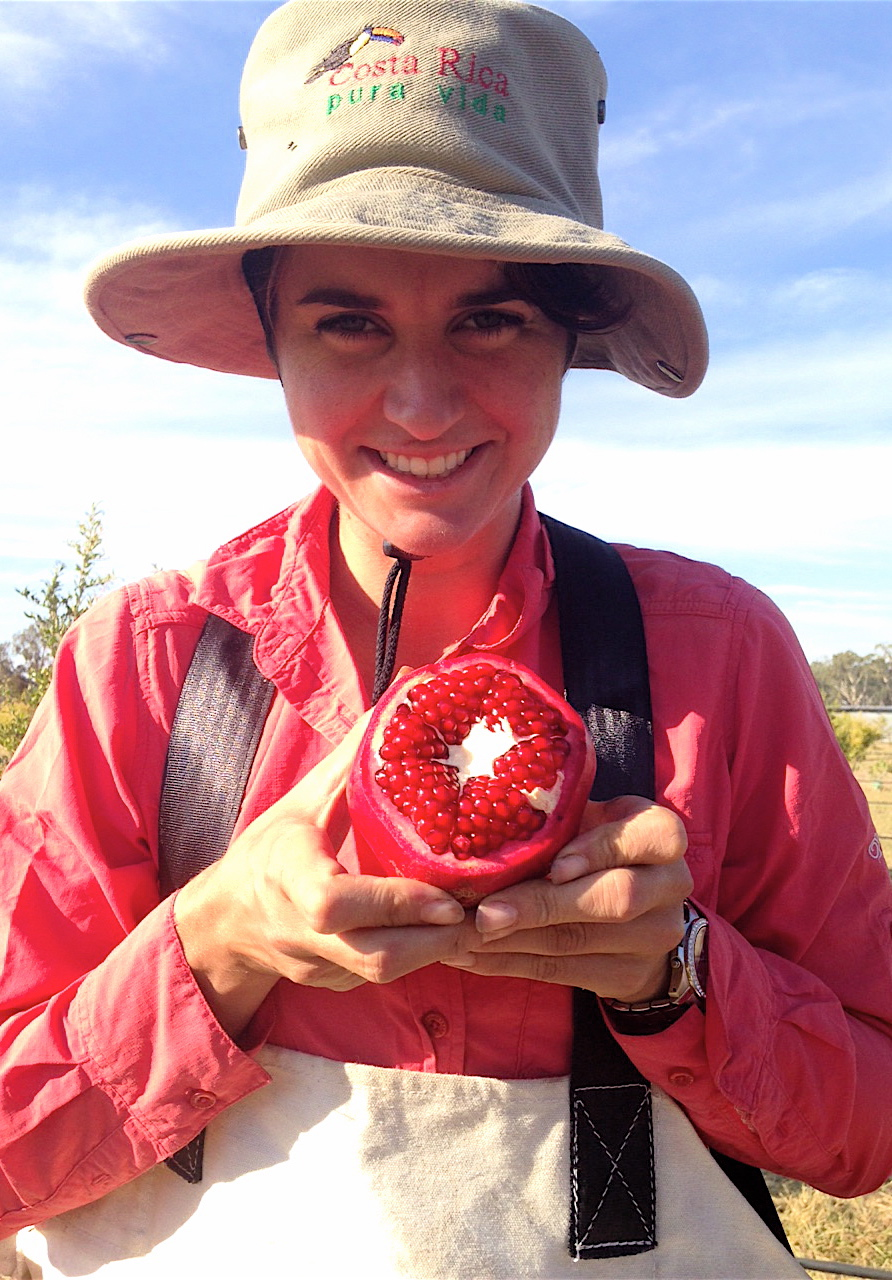 Laura with pomegranate.jpg