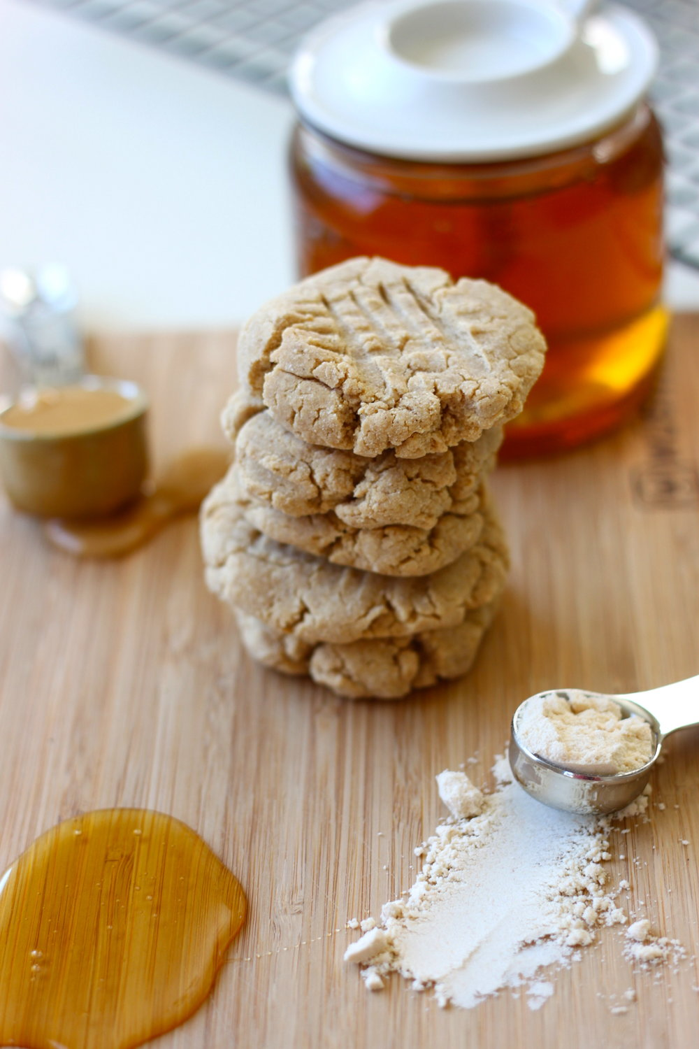 Grain Free Peanut Butter Cookies from The Diva Dish