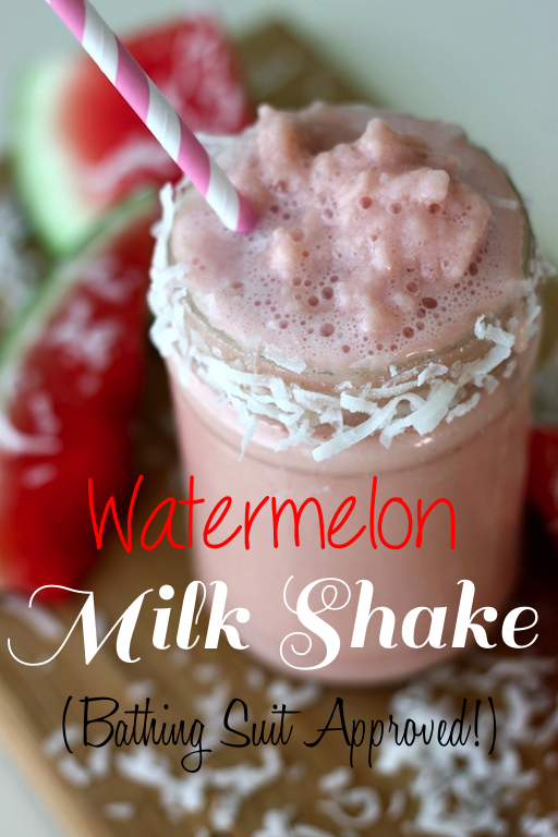 Watermelon Milk Shake-Bathing Suit Approved from The Diva Dish