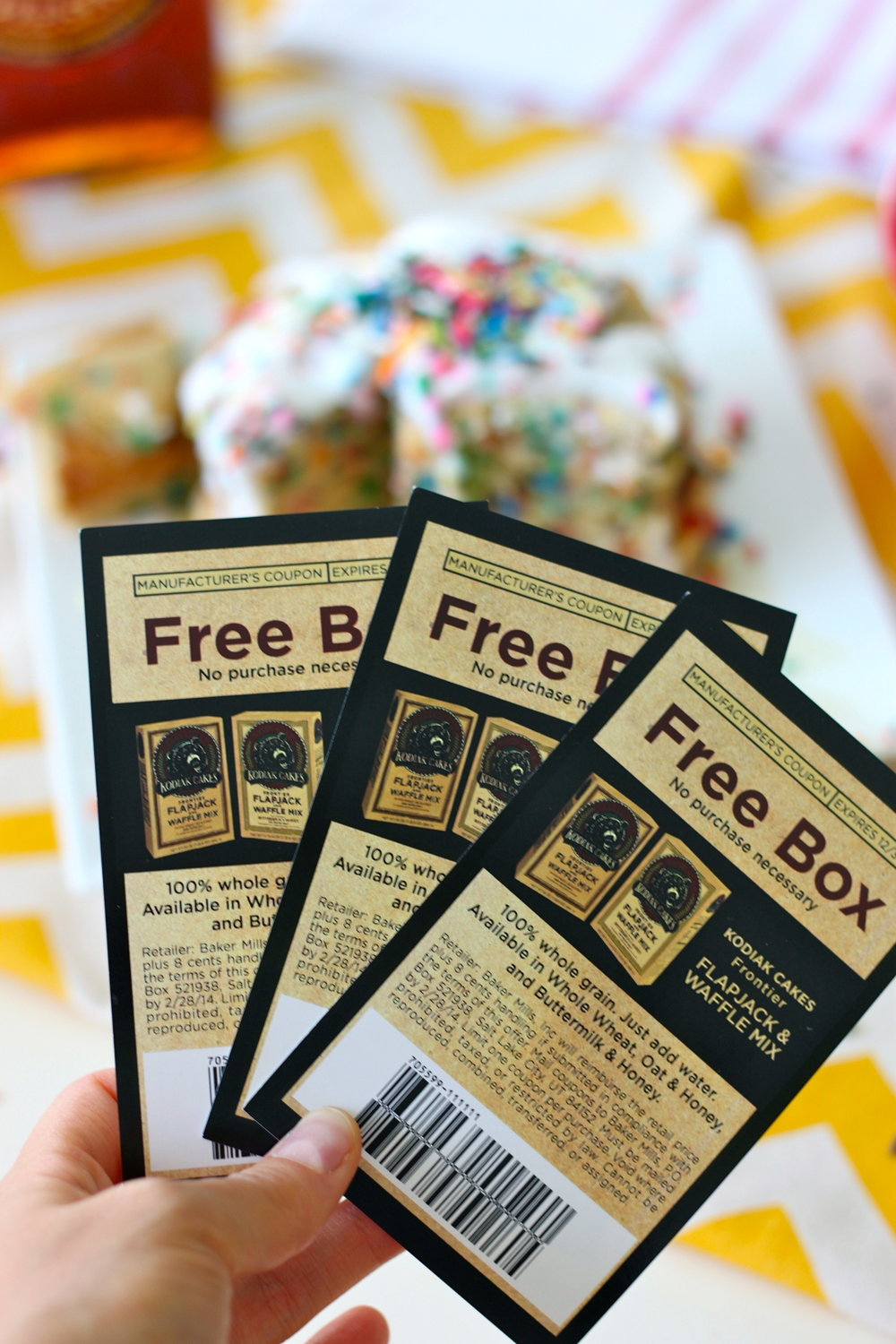 Free Box of Pancakes