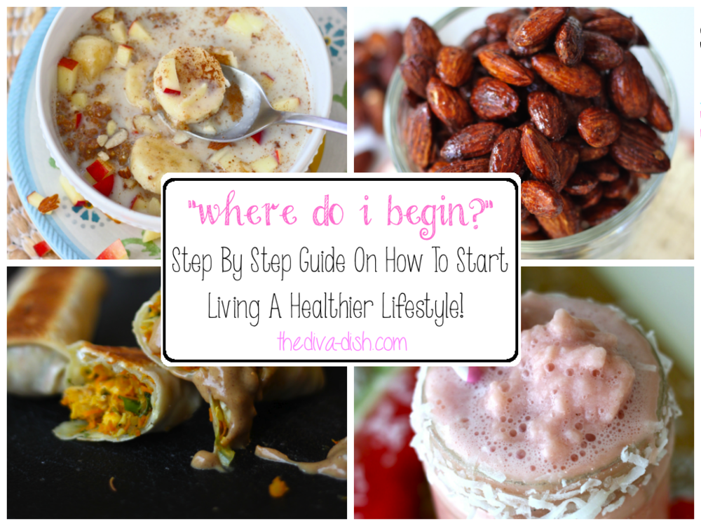 Where to begin when Starting to Live a Healthier Lifestyle-From The Diva Dish