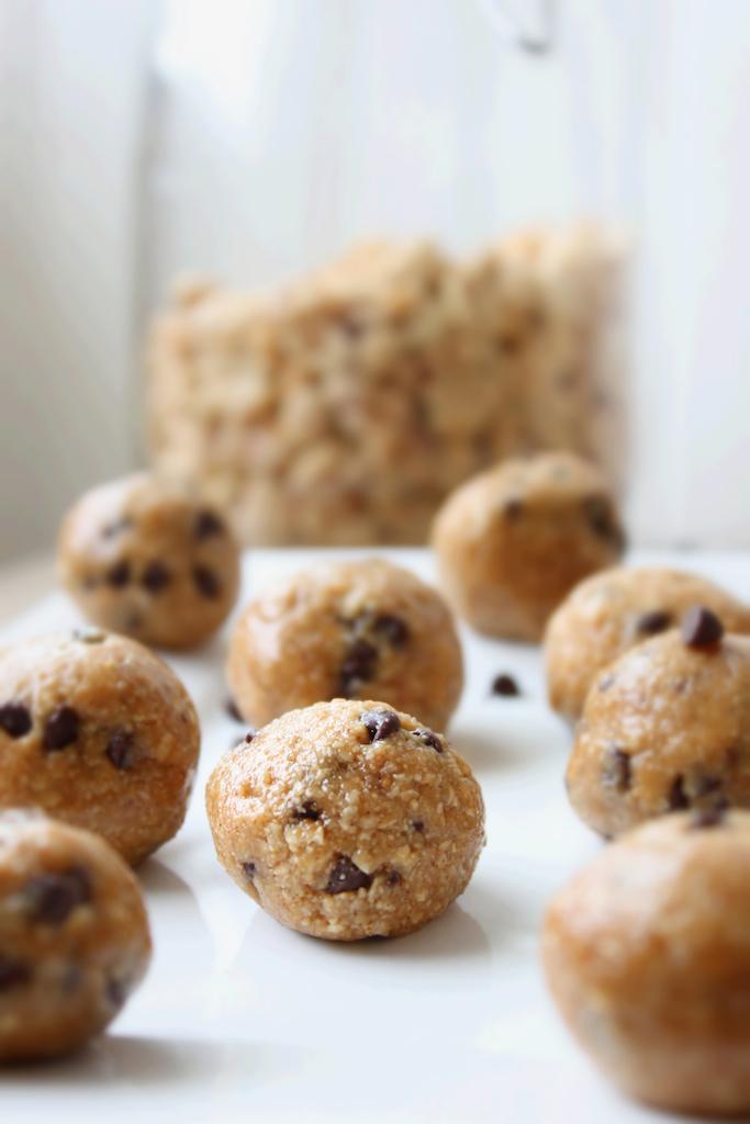 PB Cookie Dough Balls 6