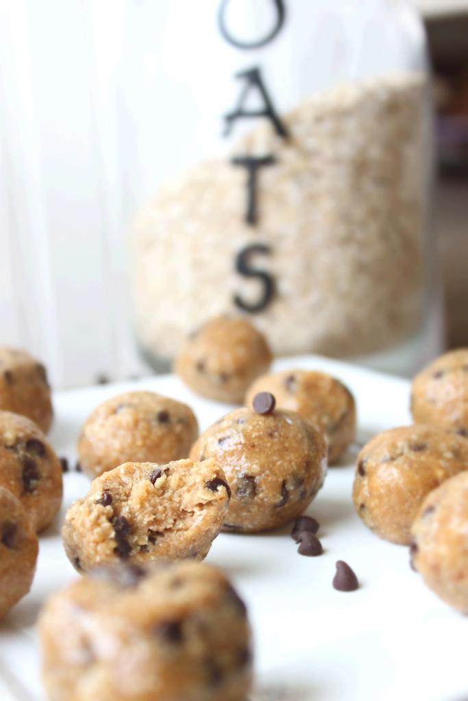 PB Cookie Dough Balls 9