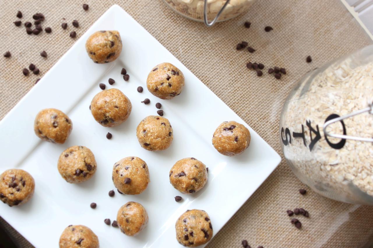 PB Cookie Dough Balls 7