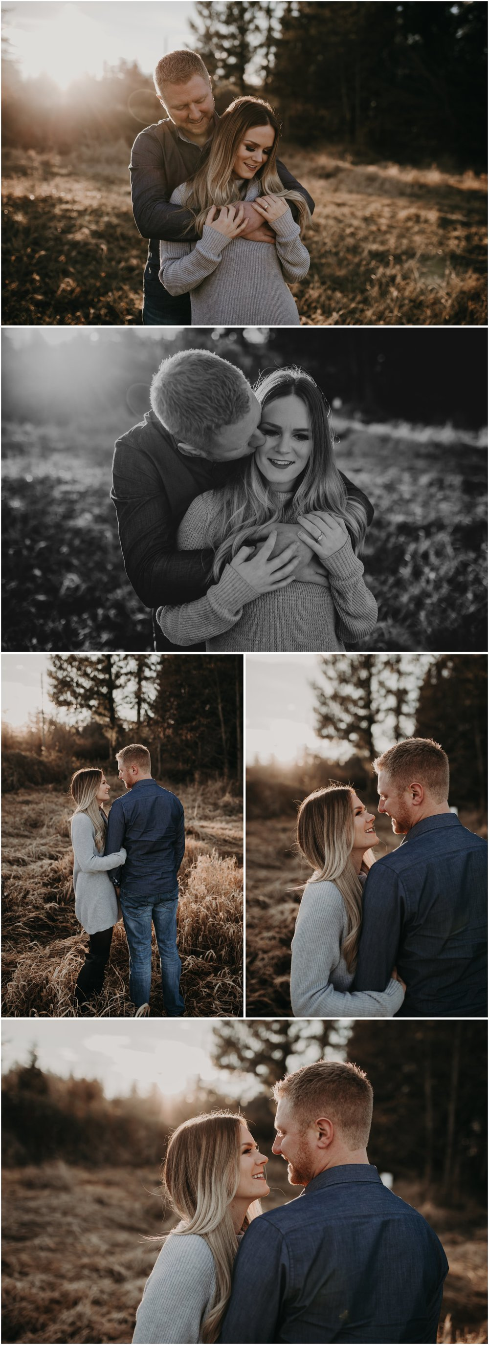 Cambell Valley Park Engagement Photography