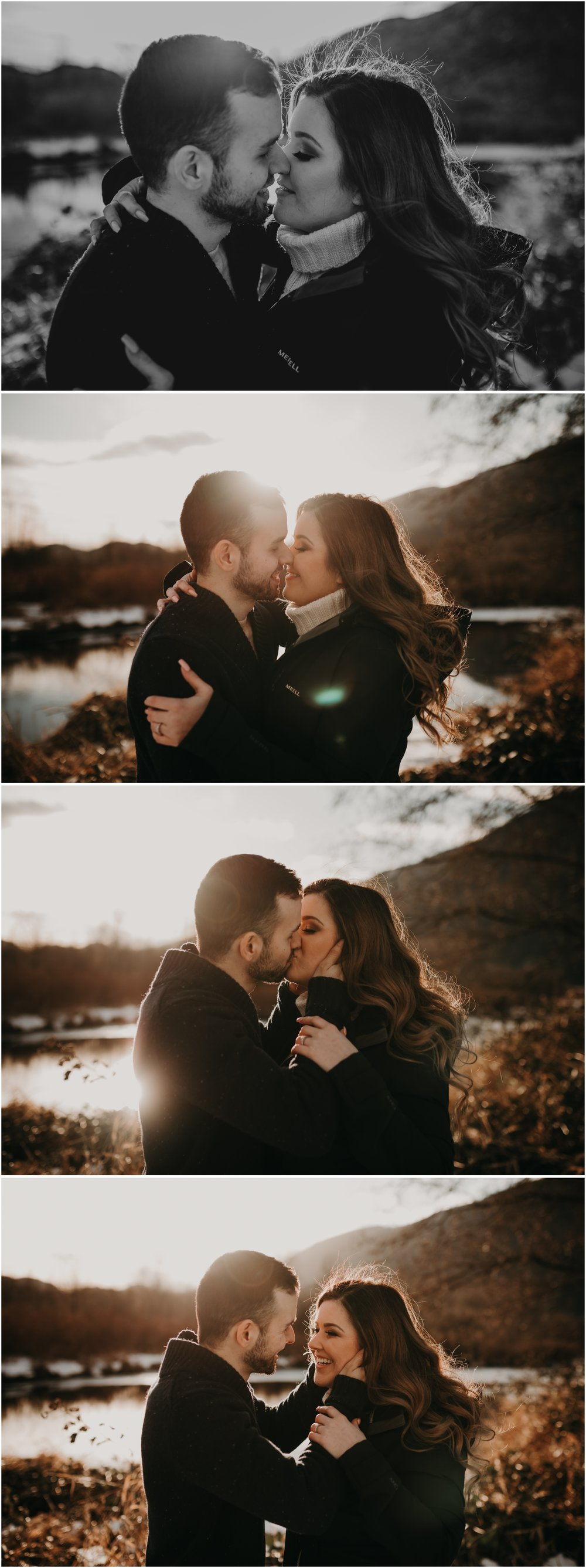 Melissa and Denis Pitt Lake Engagement Session