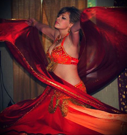 Meghan Stewart - Meghan teaches private lessons in belly dancing.