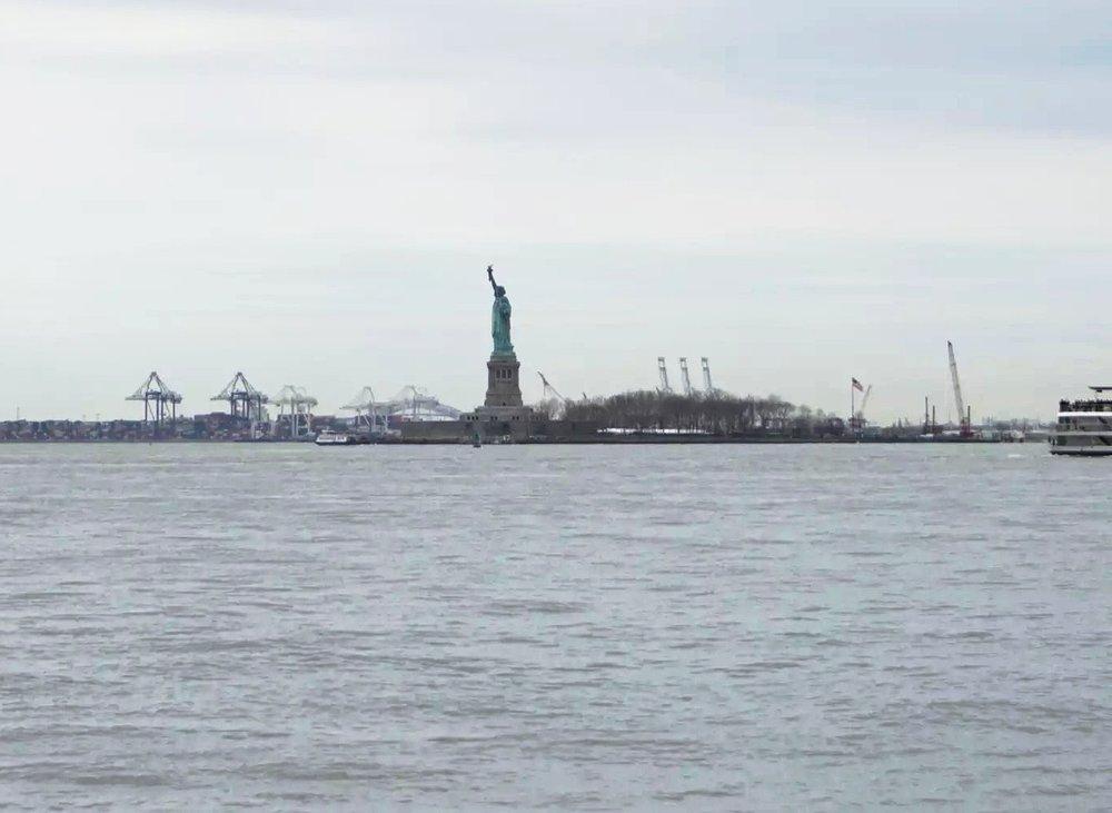 Saturday April 15th 2017. Statue of Liberty