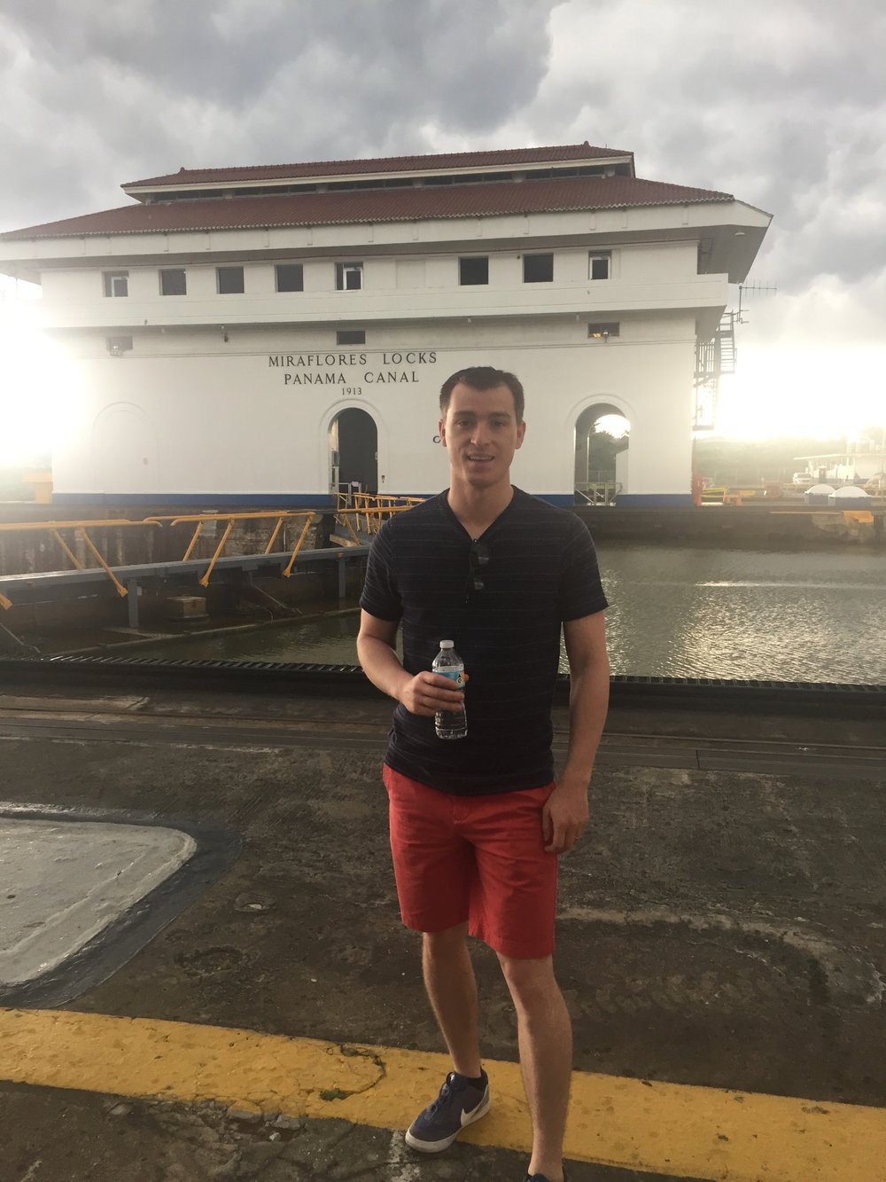 Behind the scenes tour of the Panama Canal.  Panama City, Panama - 2017