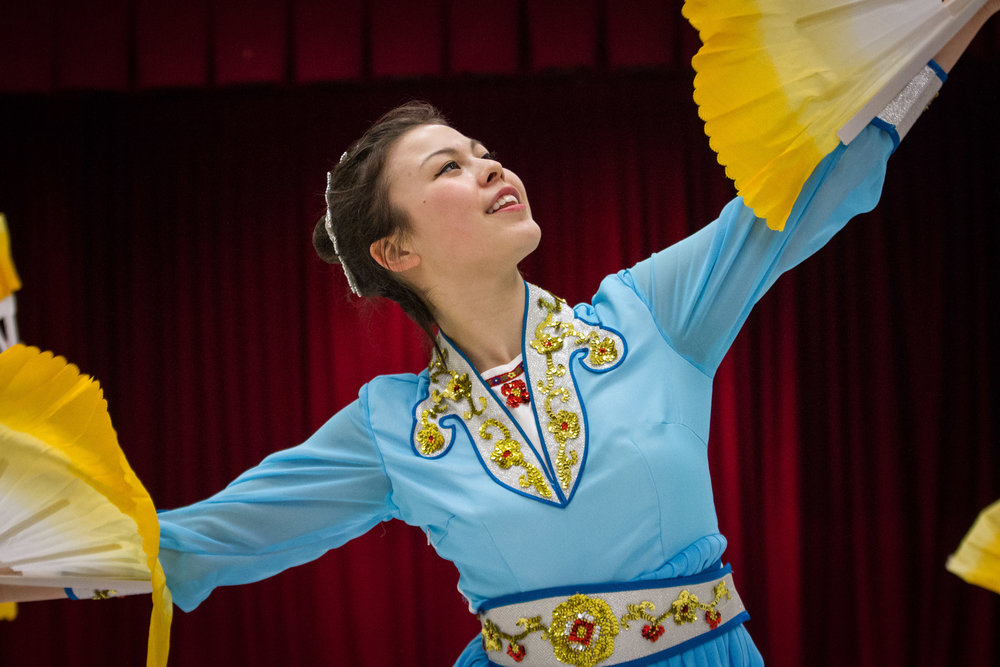 I prefer to celebrate my culture through Chinese folk dance, rather than allowing others to fetishize myself and my culture.