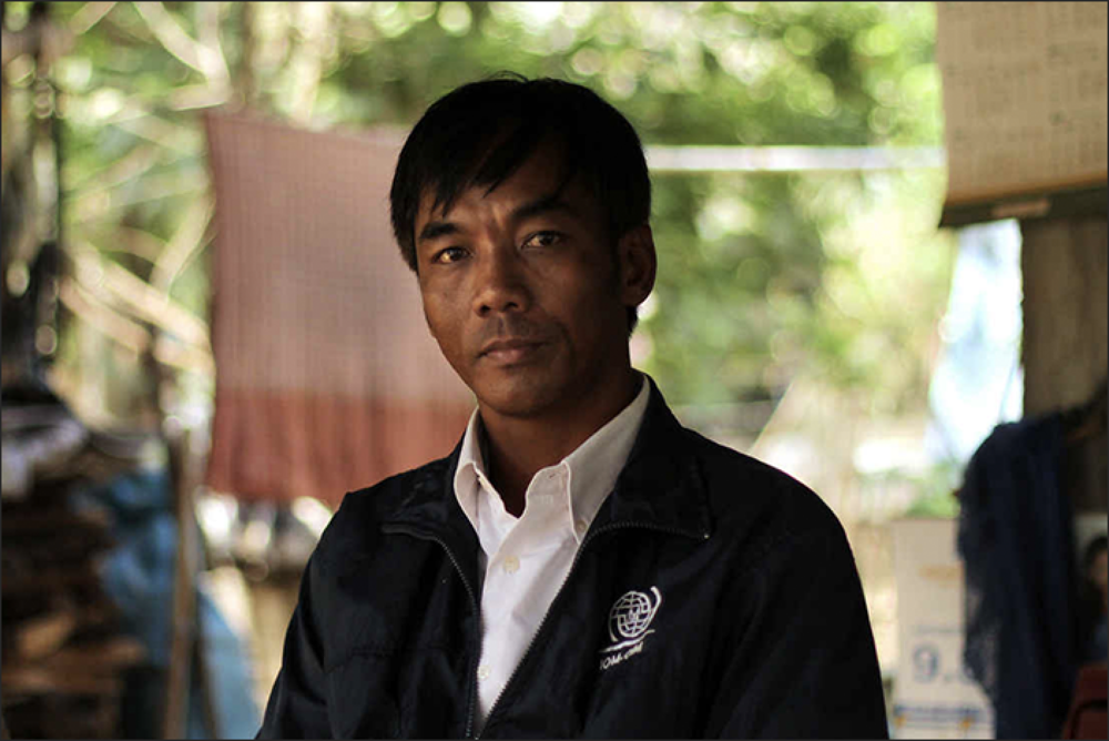 """Many who lost contact with their family and felt hopeless, died of drinking and violence"":  Eng Bun Lai spent almost five years trapped on a fishing boat. Photo: RNZ / Tess McClure"