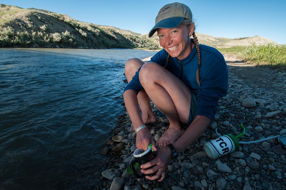 Emilene Ostlind, environmental journalist