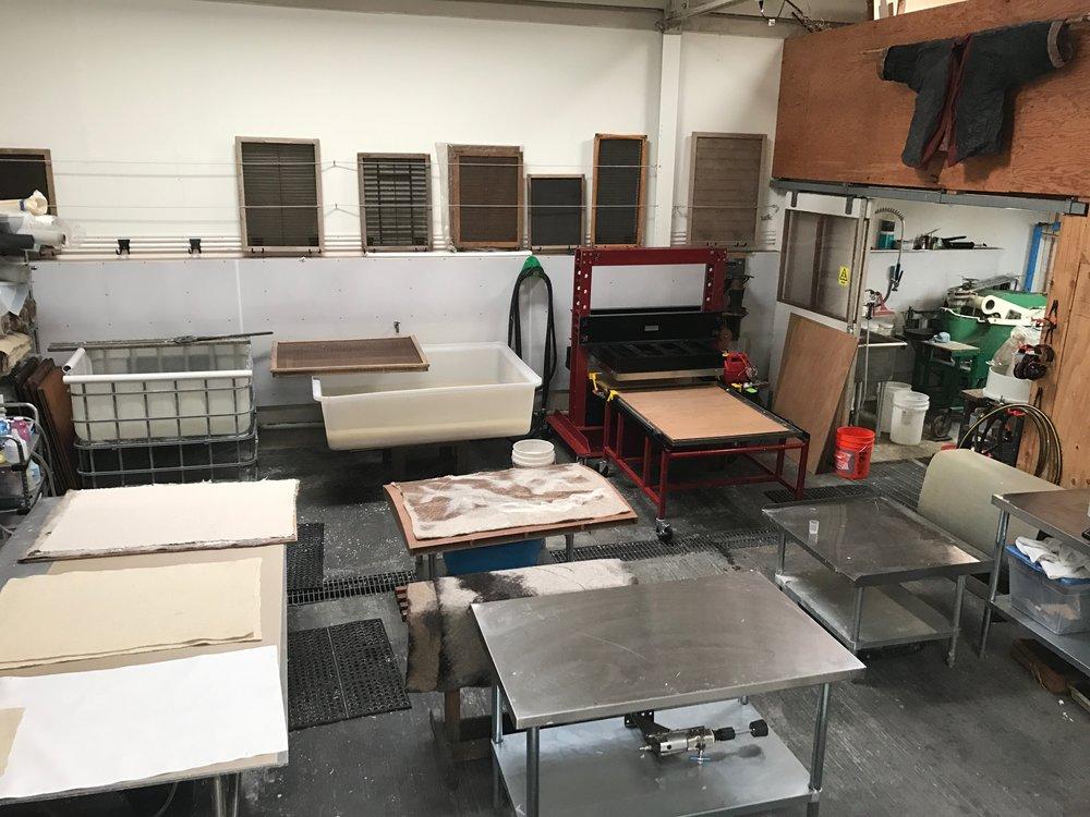 Magnolia Paper (studio view)