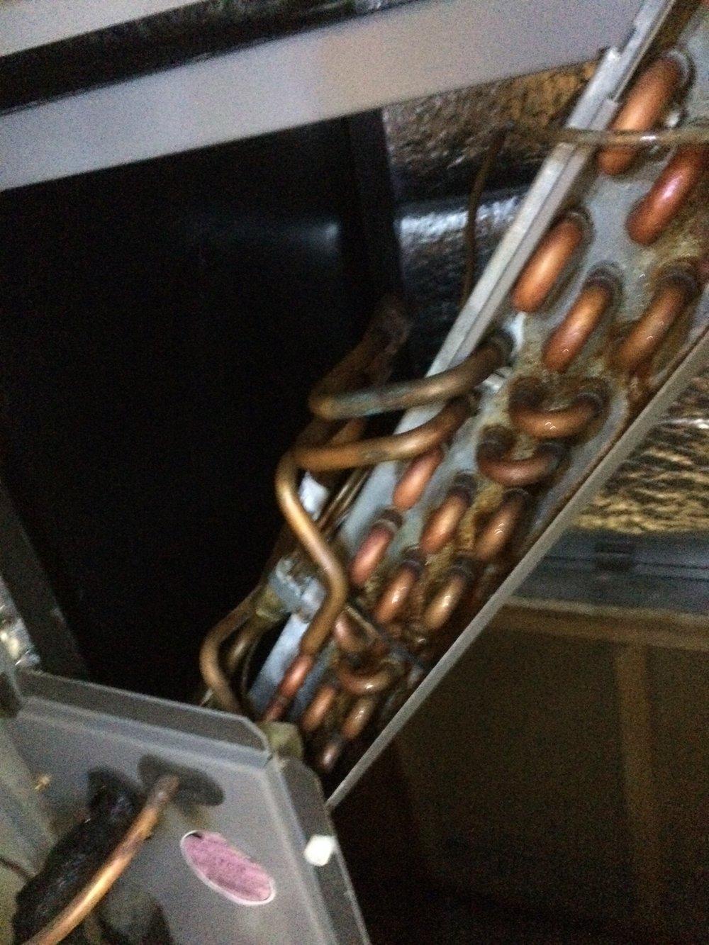 Clean coils help prevent problems.