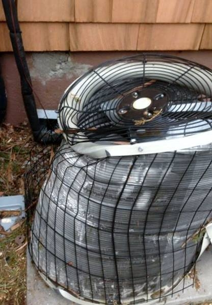 If your condenser is damaged, you'll want to replace that.