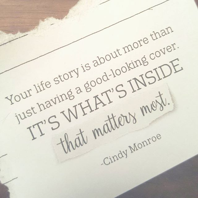 That Cindy Monroe is a genius. #HeirloomJournals #WriteYourLegacy🌹 #WhatMattersMost #31Gifts