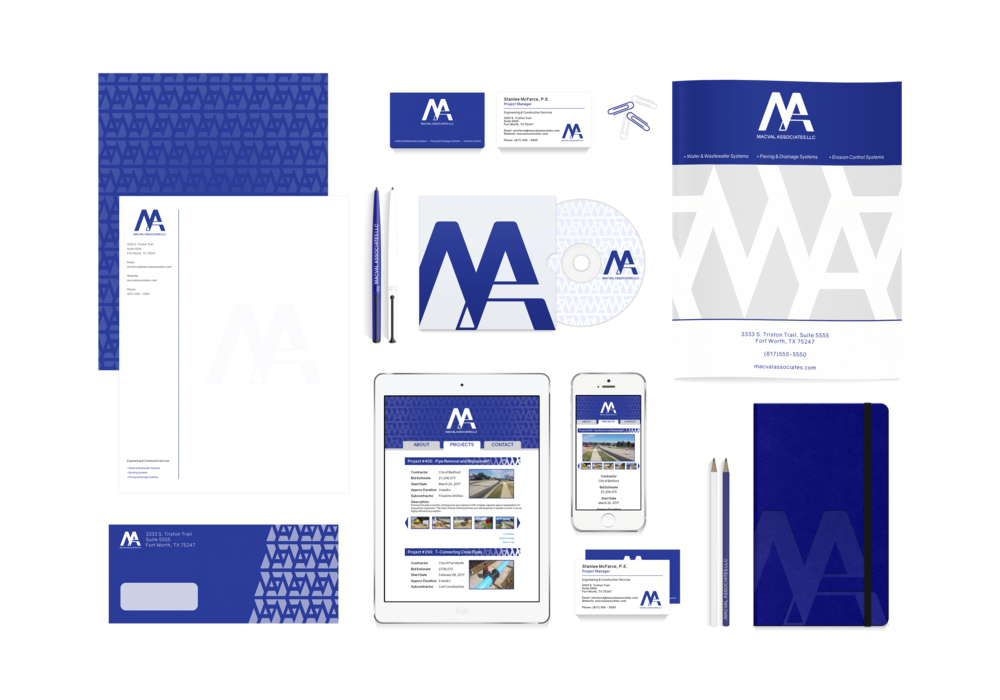Stationary Sets & Brand Identity Design - Do you have an idea that you need to put in a digital or online format? We can develop a set of stationary (business cards, letterheads, ephemera) or brand identity assets to give your business that extra-professional feel.