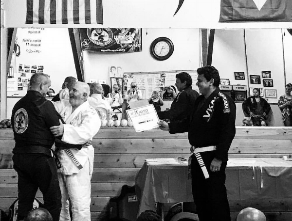 Professor JP Garcia Second Degree Promotion by Grand Master Mansor & Master Joe Moreira