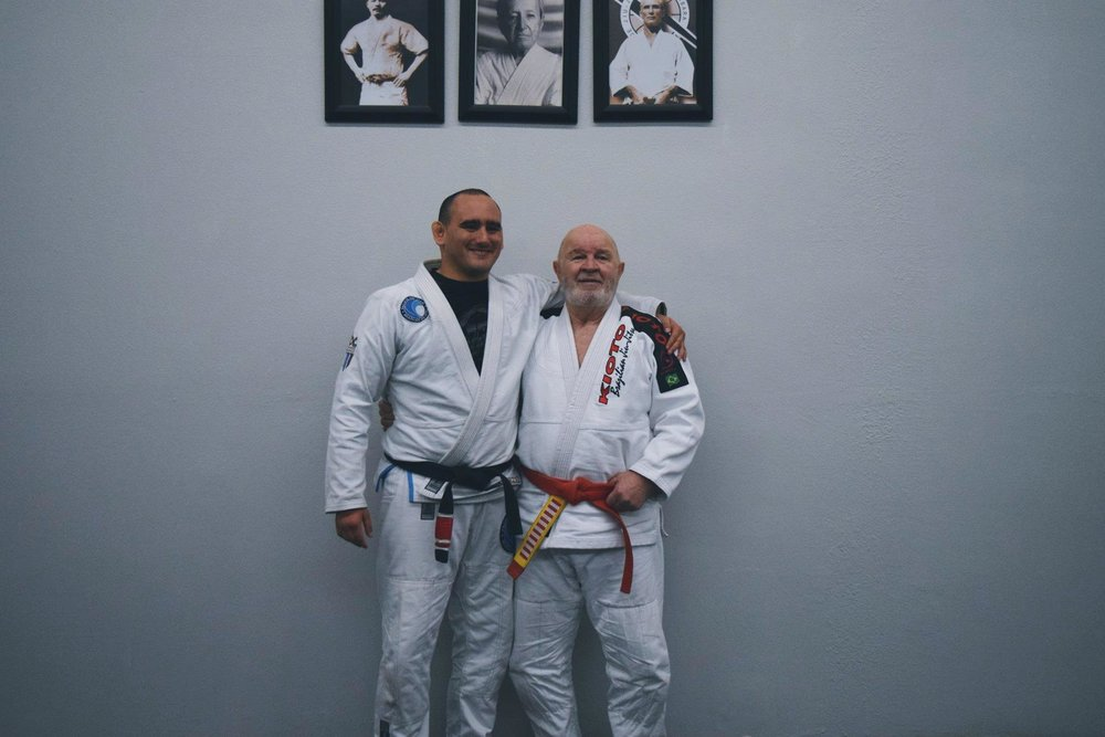 "***Grand Master Kids and Adult Seminar coming up in August at Pacific Top Team Corona*** Master Francisco Mansor (sometimes mentioned as Mansur) is a jiu jitsu red belt (9th degree) who was awarded his instructor's degree by the late Master Helio Gracie (one of only 6 men outside the Gracie family to receive the rank by Helio), being also regarded as one of the most respected men in the sport/martial art. Francisco Mansor founded the Kioto academy in 1965, one of the most traditional Brazilian jiu jitsu schools in the world, a team strongly linked with the self defense aspect of BJJ. Master Mansor and his academy are known for having one of the biggest jiu jitsu academies for youngsters in Rio de Janeiro, from where he produced high end talent such as Alvaro Mansor (his nephew) Augusto ""Tanquinho"", Carlos Henrique, Claudio França, Joe Moreira and many others."