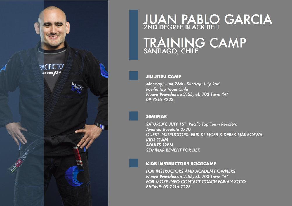 Annual Brazilian Jiu Jitsu Camp Santiago - Chile