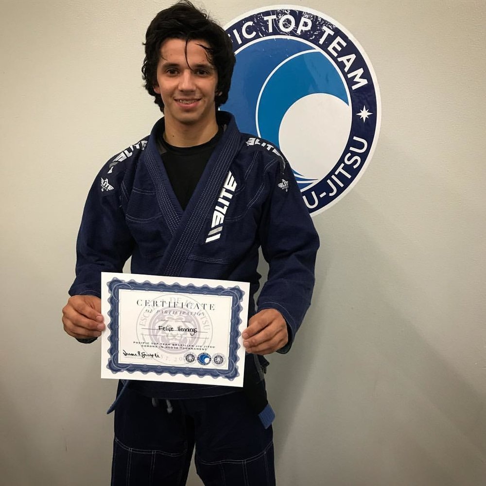 Felipe Hennings - Blue Belt Light Weight
