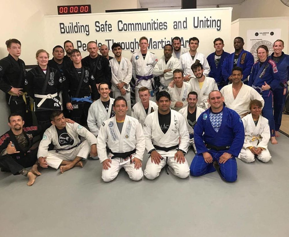 Jiu Jitsu Connection at Vilanova Jiu Jitsu - stay tune for next events coming up