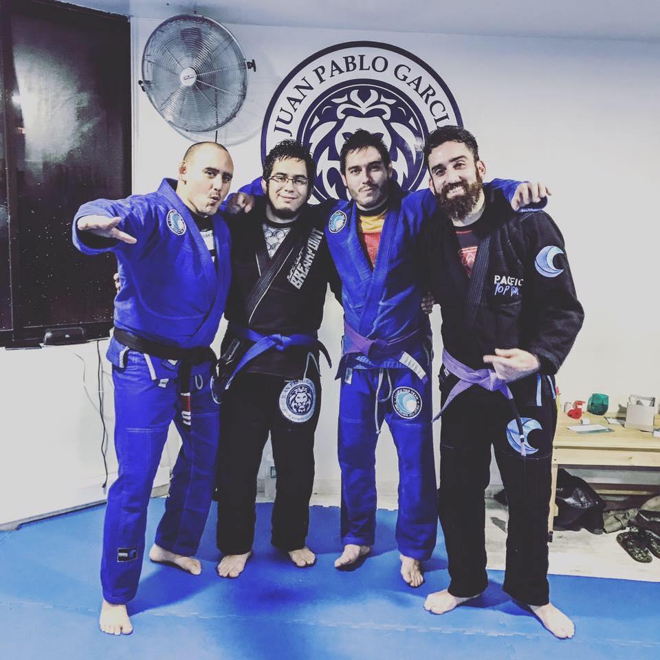 Coach Benito Blue Belt and Coach Ricardo Stripe Brazilian Jiu Jitsu Promotions
