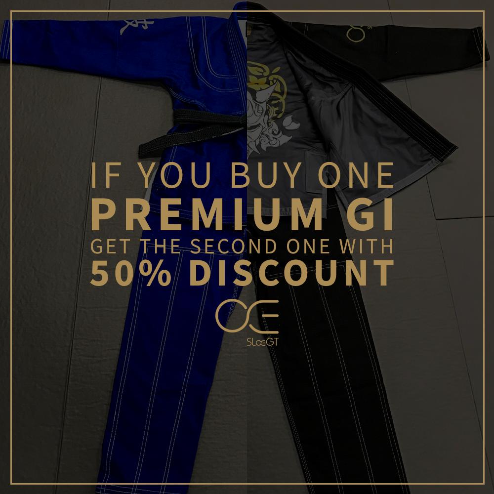 Slaegt Premium Jiu Jitsu GI