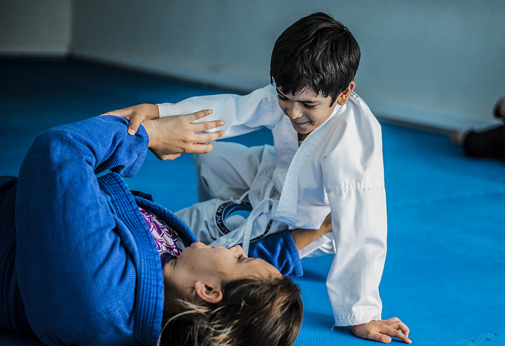 BJJ Build Confidence in Kids