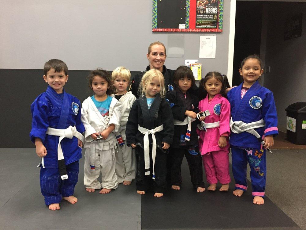 TIny Ninja's starts at 3 years old!!