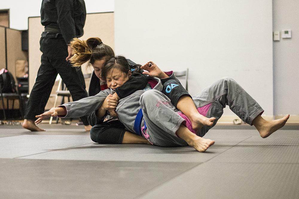 women only Brazilian jiu jitsu