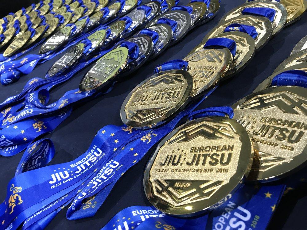 European championship medals 2018